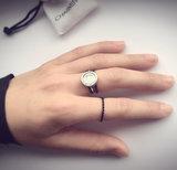 Ring R367 Black 'Sanded'_