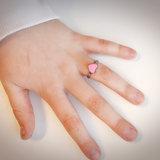 KR72 Heart Pink Shiny Steel_