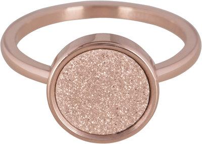 OP=OP Ring R382 Rosé 'Sanded Circle' STAFFELKORTING