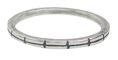 Ring R003 Silver 'Connection'