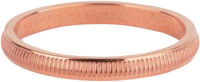 R605 Stripes Rose Gold Steel