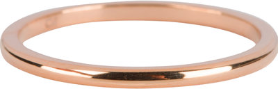 R636 Round Finished Basic Rose Gold Steel