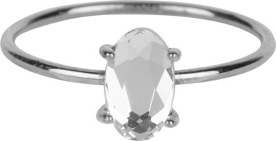 R649 Shine Big Shiny Steel Crystal CZ