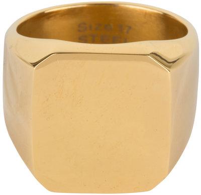 R595 Vintage Seal Stylish Gold Steel