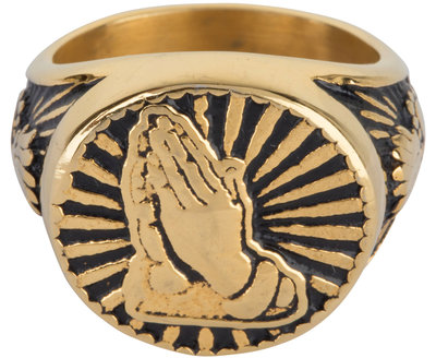 R597 Vintage Seal Hope Gold Steel