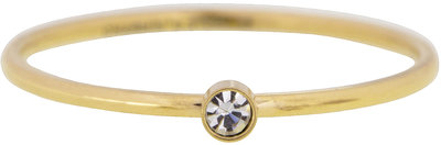 Ring R432 Gold 'Shine Bright' 2.0