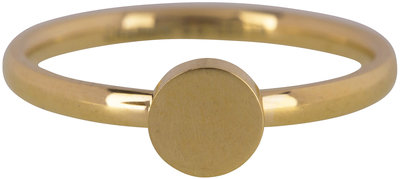 Ring R424 Gold 'Fashion Seal Medium'