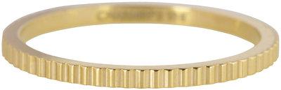 RING R399 GOLD 'STEEL BRICKS'