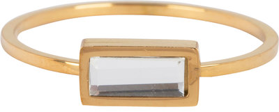 R709 Crystal Cube Gold Steel
