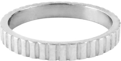 Ring R319 Steel 'Serrated'