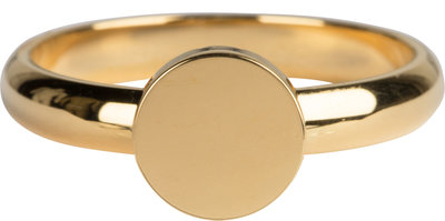 KR93 Fashion Seal Medium Gold Steel