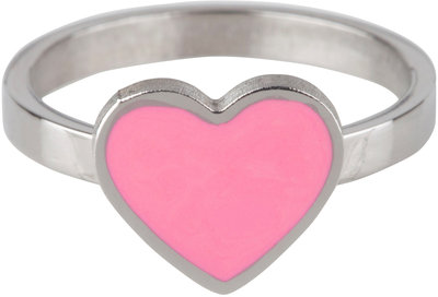 KR72 Heart Pink Shiny Steel