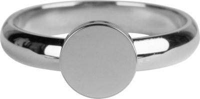 R826 Pudgy Seal Ring Round Steel