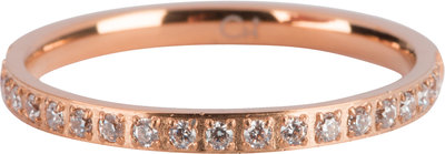 R640 Moiety Crystals Rose Gold Steel