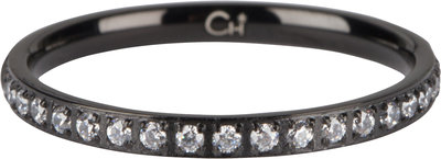 R641 Moiety Crystals Black Steel