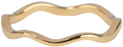 R829 Curved Wave Gold
