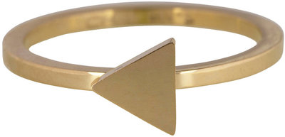 Ring R395 Gold 'Steel Triangle'