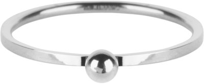R528 Dot Ring Shiny Steel