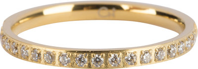 R639 Moiety Crystals Gold Steel
