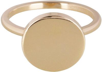 Ring R386 Gold Steel 'Fashion Seal'