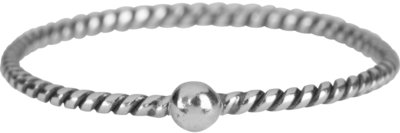 R846 Silver Twisted Dot