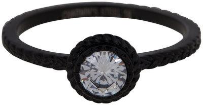 RING R438 BLACK 'STEEL ICONIC'