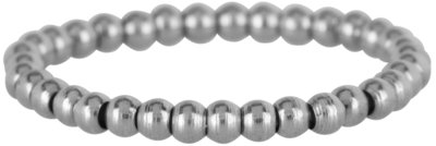 Ring R471 Steel 'Stretch Shiny Steel Small'