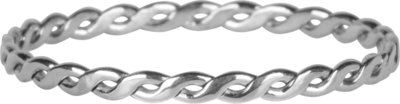R774 Curvy Tiny Chain Shiny Steel