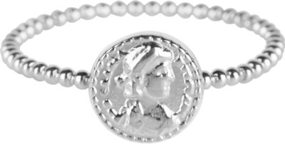 R624 Shiny Steel Roman Coin