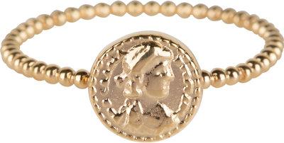 R625 Gold Steel Roman Coin