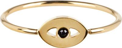 R764 Mistique Eye Gold Steel