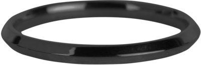 R670 Basic Hooked Black Steel