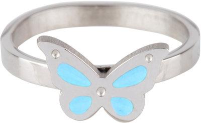 KR65 Butterfly Blue Shiny Steel