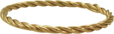 Ring R329 Gold 'Turning steel'