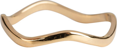 R797 Smooth Waves Gold Steel