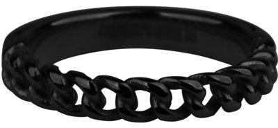 R879 Heavy Half Chain Black  Staal