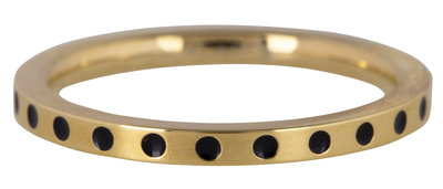 R869 Round And Round Dots gold