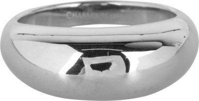 R993 Chunky Smooth Steel Ring