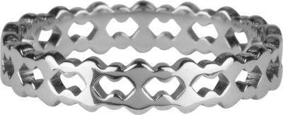 R908 Double trouble steel Ring