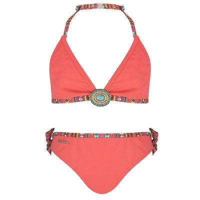 BOHO Bikini Meisje Coral