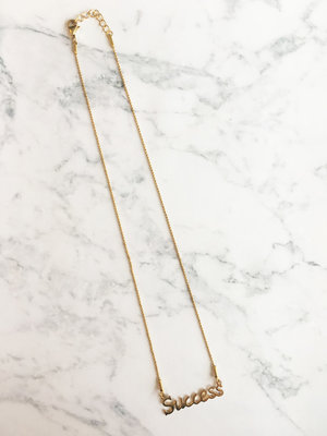 GiveAway Naamketting Succes Gold