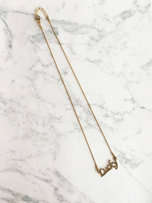 GiveAway Naamketting Lucky Gold