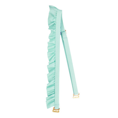 The Boho Ruffled bikini strap Mint Green