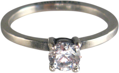 Ring R183 White 'Princess Diamond'
