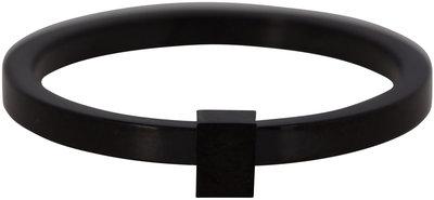 OP=OP Ring R486 Black 'Quatre Steel' STAFFELKORTING