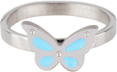 KR65 Butterfly Blue Shiny Steel