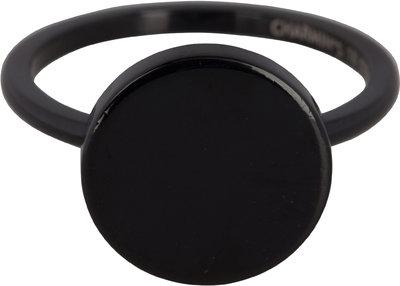 Ring R388 Fashion Seal Black Steel