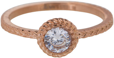 RING R437 ROSÉ 'STEEL ICONIC