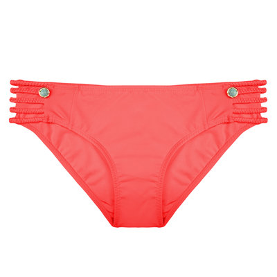 The Boho Fancy Bottom Coral Red