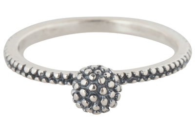Ring R301 Silver 'Dotted Ball'
